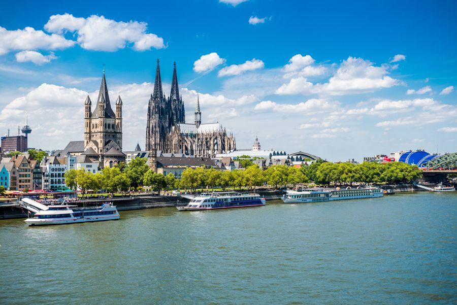Ansicht des Kölner Doms