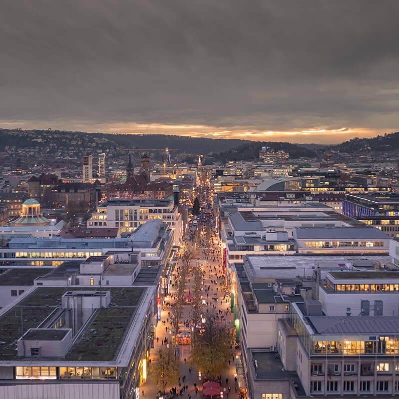 Bild der Stadt Stuttgart